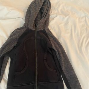 Black Lululemon Scuba Jacket